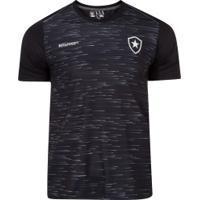 Camiseta Do Botafogo Hide - Masculina - Preto Mescla