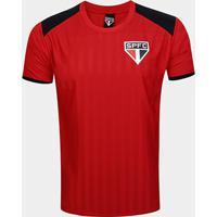 Camiseta São Paulo Base Tricolor Masculina - Masculino