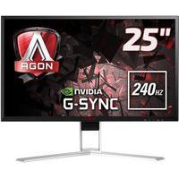 Monitor Gamer Aoc 25´, Led, Widescreen, Full Hd, Hdmi/Display Port, Nvidia Gsync Premium, Som Integr, 240Hz, 1Ms, Altura Ajustável - Ag251Fg