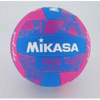 Bola De Vôlei Mikasa Good Vibes Azul E Rosa
