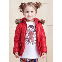 Jaqueta Doudoune Vermelha