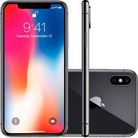 Usado Smartphone Apple Iphone X 64Gb Desbloqueado Cinza Espacial (Excelente)