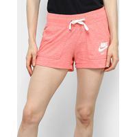 Short Nike Gym Vintage Feminino - Feminino-Vermelho Claro