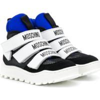 Moschino Kids Tênis Com Mesh - Preto