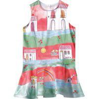 Vestido Lilica Ripilica Infantil 101102910001 Verde