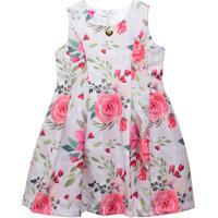 Vestido Floral Gira Baby Kids