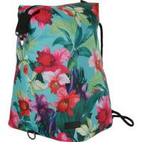 Gym Sack Oxer Back - Verde/Rosa
