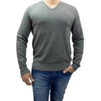 Suéter Masculino Tommy Hilfiger - Masculino-Cinza
