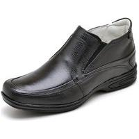 Sapato Gh Calçados Anti-Stress Conforto Preto
