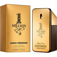 Perfume Masculino One Million Paco Rabanne Eau De Toilette 50Ml - Masculino-Incolor