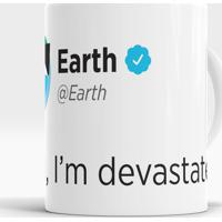 Caneca Earth Message