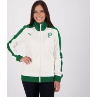 Jaqueta Puma Palmeiras Track Feminina Branca