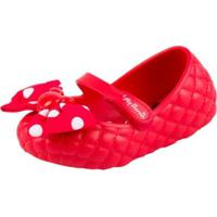 0ca49432186 CEA  Sapatilha Grendene Kids Minnie Me Baby - Feminino-Vermelho