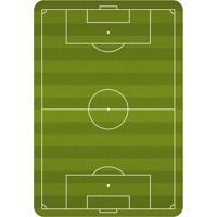 Tapete Love Decor De Atividades Infantil Campo De Futebol Único