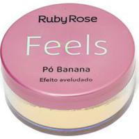 Pó Banana Feels Ruby Rose - Único