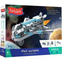 Blocos De Montar - Space Discovery - Funtastik