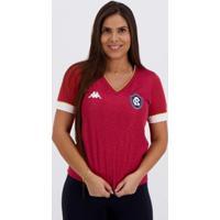 Camisa Kappa Remo Iii 2020 Feminina - Feminino-Vermelho