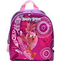 Lancheira Santino Angry Birds Roxa