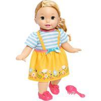 Boneca Bebê - Little Mommy - Doce Bebê - Saia Amarela - Mattel