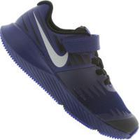 Tênis Nike Star Runner Rfl - Infantil - Azul Escuro
