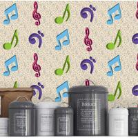 Saldão - Adesivo Para Azulejo Music 10X10Cm