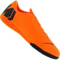 Chuteira Futsal Nike Mercurial Vapor X 12 Academy Ic - Adulto - Laranja  Esc Preto db7ab7db2a362