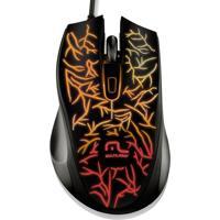 Mouse Gamer Multilaser Fusion 1000 Dpi 7 Cores De Led Mo227 - Unissex