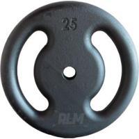 Anilha De Ferro Fundido Pintada - 25 Kg - Unissex