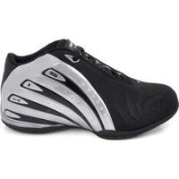 Tênis De Basquete D&R Shoes Masculino - Masculino-Preto+Cinza