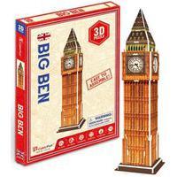 Quebra-Cabeça 3D Big Ben 13 Peças - Brinquedos Chocolate