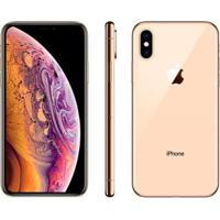 "Iphone Xs Apple 64Gb Ouro 4G Tela 5,8"" Retina - Unissex-Ouro"
