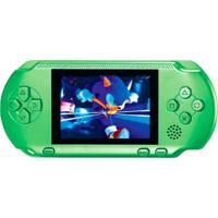 Video Game Portátil Pocket + Cartucho - Verde