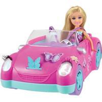 Boneca Veículo - Sparkle Girlz - Carro Fada - Dtc - Feminino-Incolor