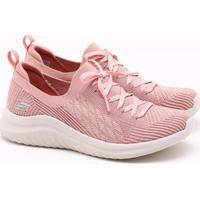 Tênis Skechers Ultra Flex 2.0 Rosa Feminino