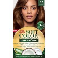 Tintura Soft Color Sem Amônia Chocolate 67 Kit