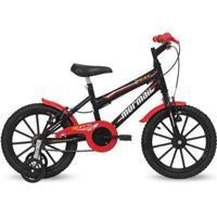 Bicicleta Aro 16 Infantil Masculina Next Preto Brilhante Mormaii - Masculino