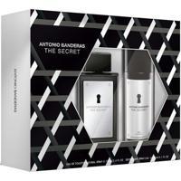 Kit Perfume Antonio Banderas The Secret Eau De Toilette + Desodorante
