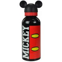 Garrafa De Aço Inox Disney Vintage Mickey 60151 Preto