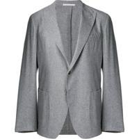 Eleventy Blazer Com Botão Único - Cinza