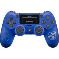 Controle Sem Fio Sony Dualshock 4 Uefa Para Playstation 4 Champions League