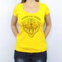 Satan Is My Motor - Camiseta Clássica Feminina