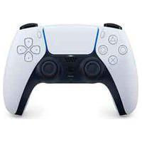 Controle Sem Fio Sony Dualsense Branco E Preto Para Playstation 5