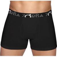 Cueca Boxer Flex Zorba - Masculino-Preto