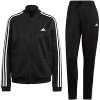 Agasalho Adidas 3 Listras Feminino - Preto E Branco