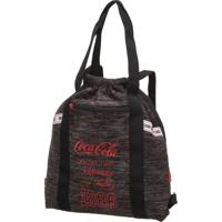 Bolsa Saco Coca Cola Connect Preta - Tricae
