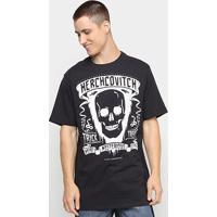 Camiseta Ellus Mysterious Halloween Herchcovitch Masculina - Masculino-Preto