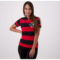 Camisa Flamengo Flatri Feminina - Feminino-Vermelho