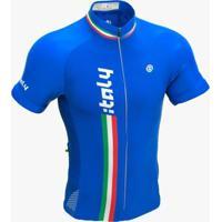 Camisa De Ciclismo Italy Ert - Masculino