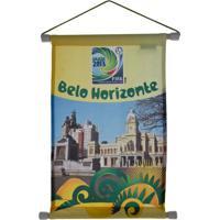 Flâmula Licenciados Copa Do Mundo Cidades Poly Belo Horizonte Amarela