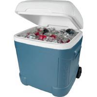 Caixa Térmica Igloo Com 66 Litros E Com Rodas Max Cold 70 Qt Ice Cube